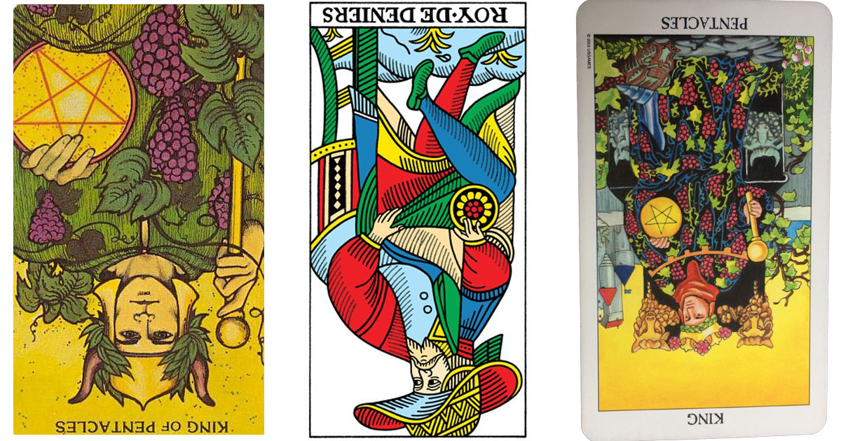 The King of Pentacles Reversed OpenGraph Image