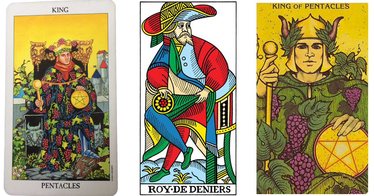 The King of Pentacles OpenGraph Image