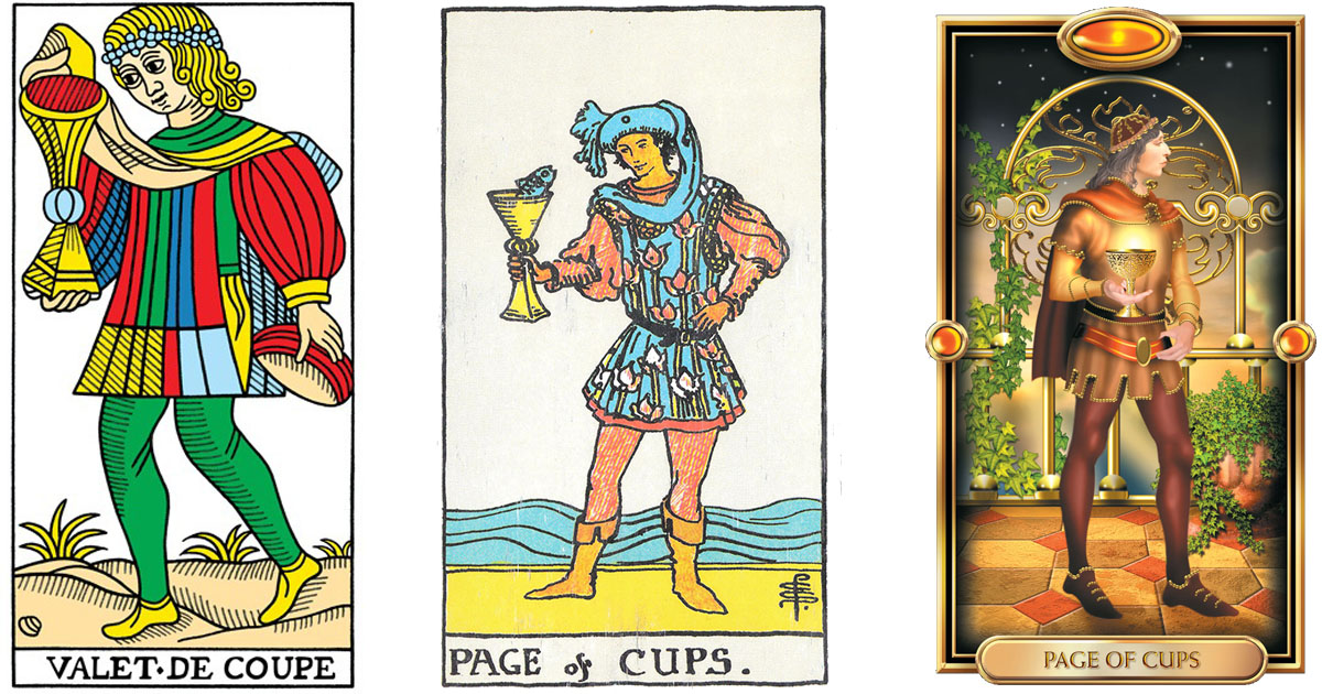 The Page of Cups OpenGraph Image