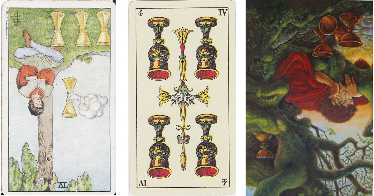 The Four of Cups Reversed OpenGraph Image