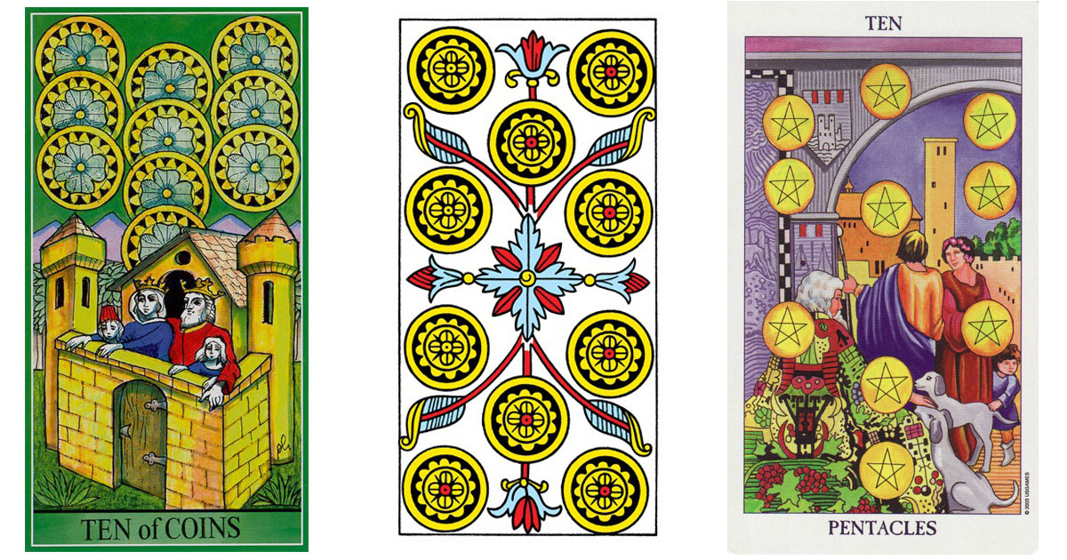 The Ten of Pentacles OpenGraph Image