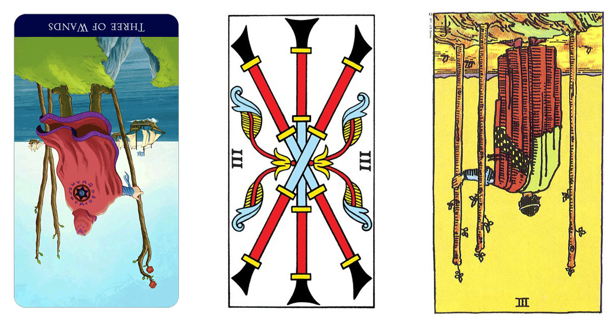 The Three of Wands Reversed OpenGraph Image